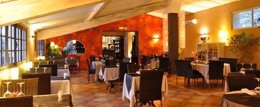 La salle du restaurant - Domaine Les Soleiades
