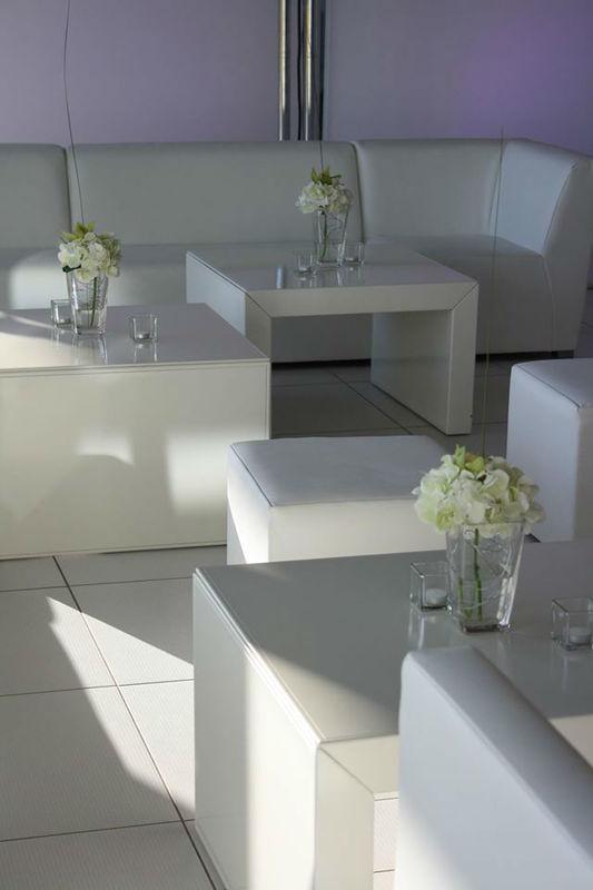 Beispiel: Raumgestaltung, Foto: Nadja Meyer Floristik.