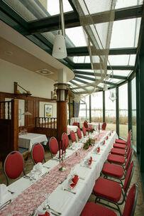 Beispiel: Tafel, Foto: Hotel & Restaurant Seebad-Casino.