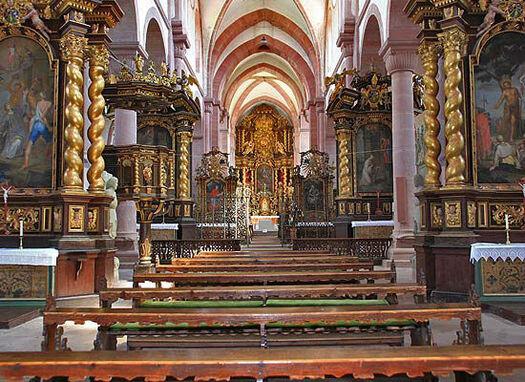 Beispiel: Klosterkirche, Foto: Kloster Bronnbach.