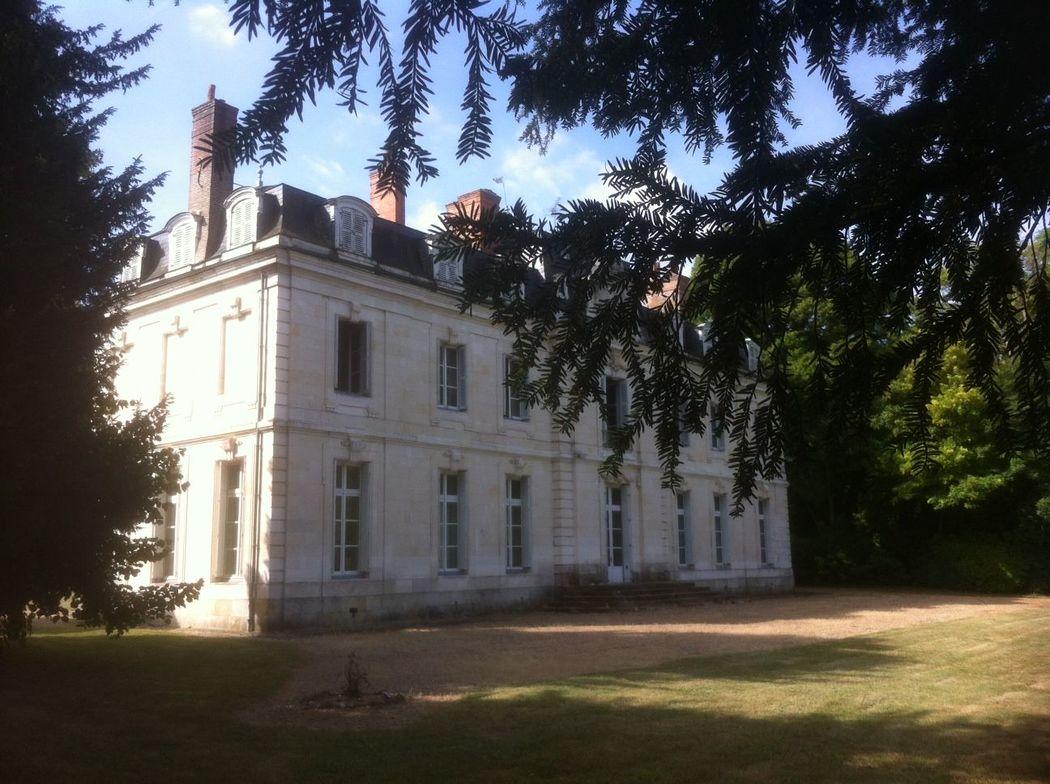 Chateau de St SENOCH - terrasse