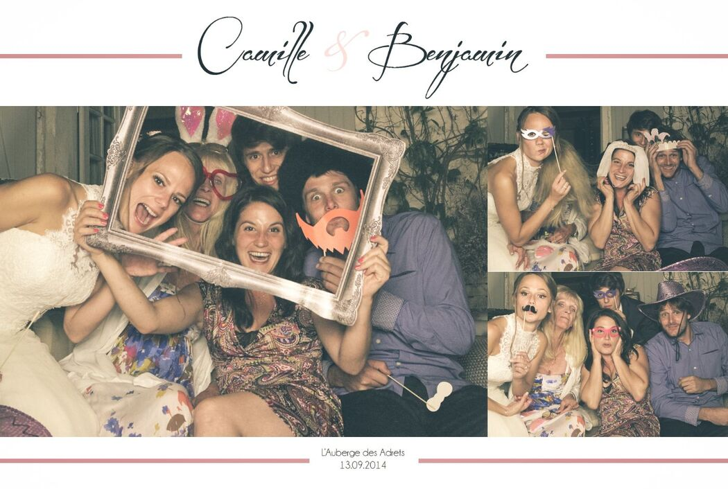 vip box - photobooth mariage