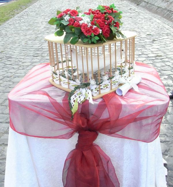 Beispiel: Tauben für die Hochzeitsfeier, Foto: Café Restaurant Schlott.