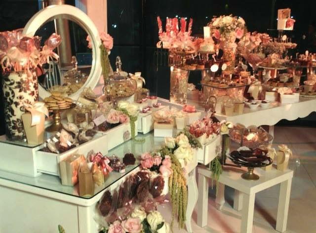 Mesas tocadores de dulces