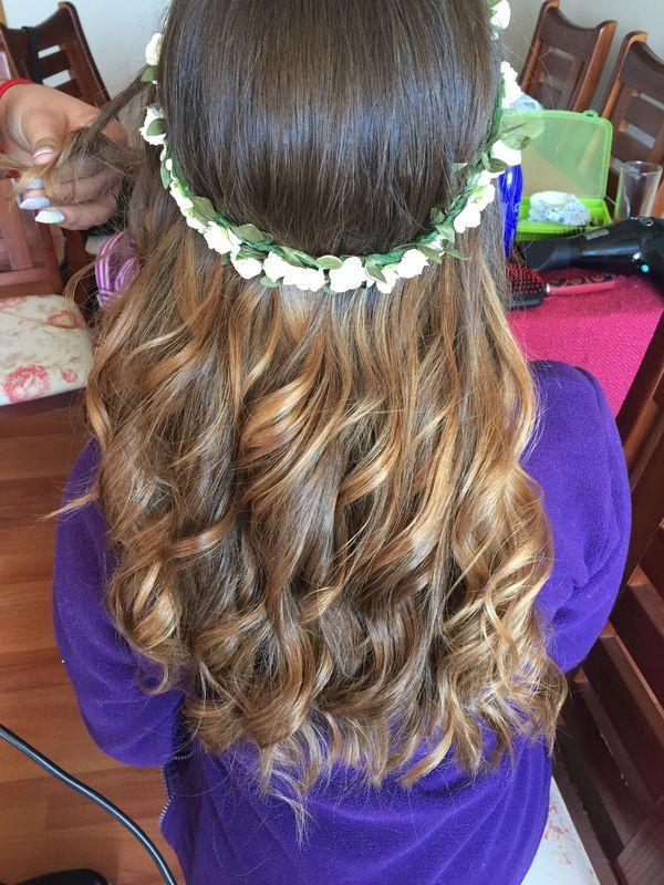 peinado de novia para su matrimonio civil
