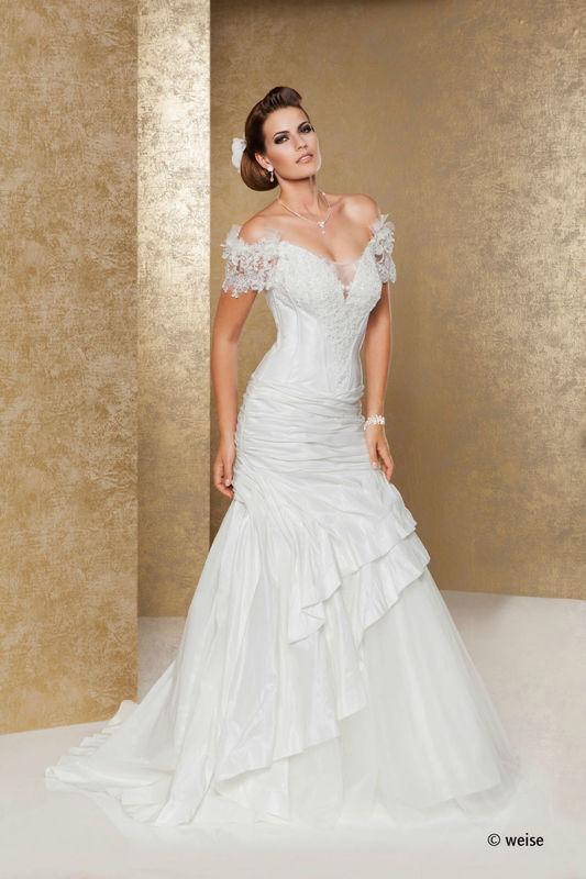 Beispiel: Verführen Sie Ihren Bräutigam, Foto: Weise Brautmode.