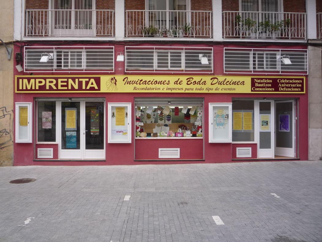 NUESTRA TIENDA EN MADRID Te atendemos en la calle Dulcinea,3. Desde 1967 estamos encantados de atenderte.  Atención personalizada. No es necesario pedir cita previa. Nuestro horario es: de lunes a viernes de 9,30 a 2 y de 5 a 8,30. Los sábados de 10 a 1,30.