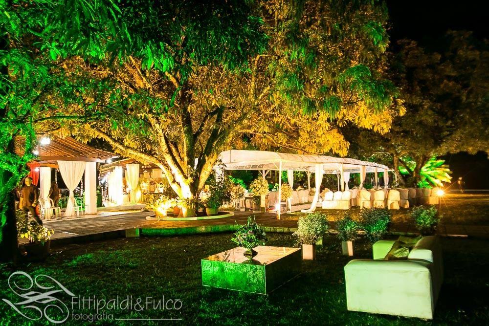 Evento noturno- iluminação decorativa