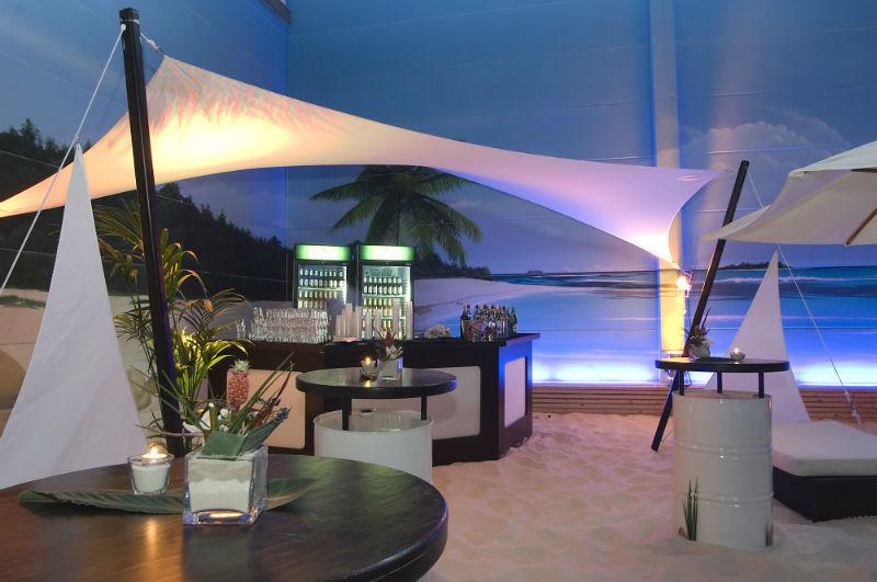 Beispiel: Bar, Foto: BeachCenter Hamburg.