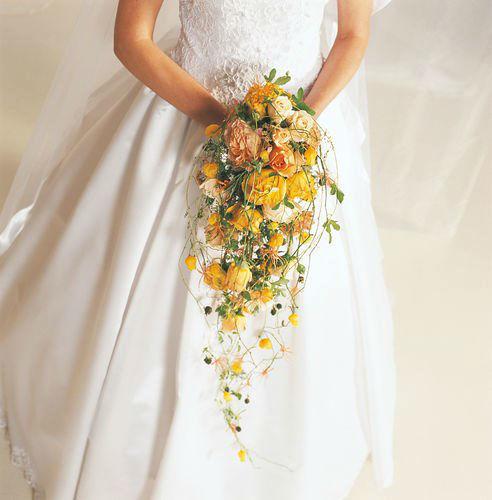 Beispiel: Brautstrauß, Foto: Blumen Becht.