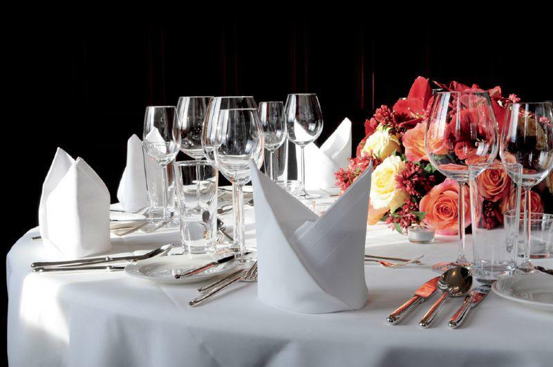 Beispiel: Tischdekoration, Foto: Sorell Hotel Zürichberg.