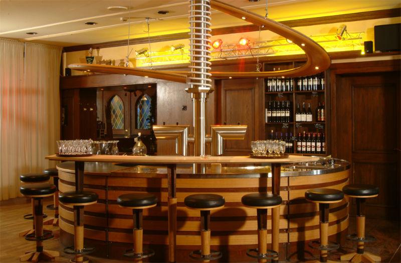 Beispiel: Hotelbar, Foto: AKZENT Hotel Tietmeyer.