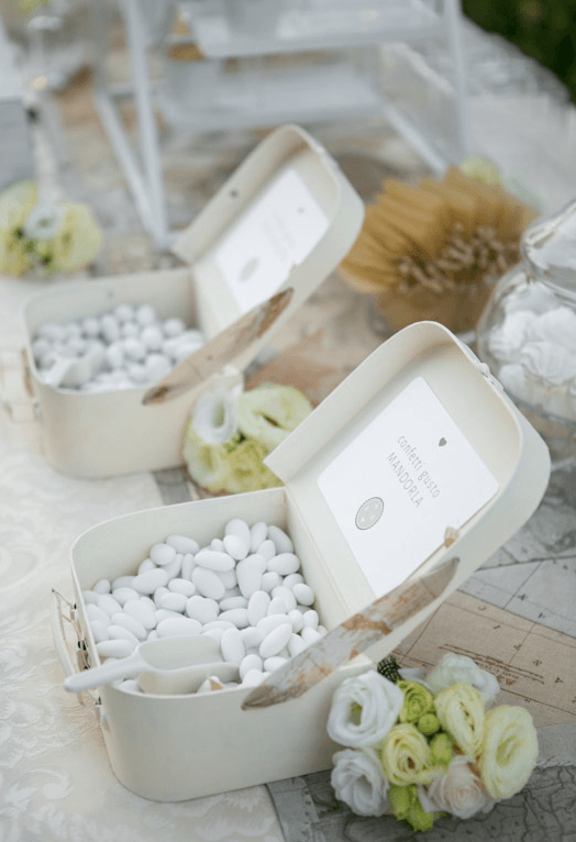 Travel themed Sweet Table Confettata