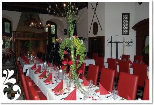 Beispiel: Hochzeitstafel, Foto: Schlosshotel Friedewald.