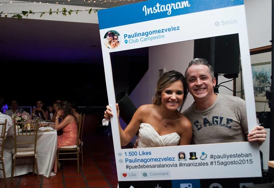Con la novia Paulina foto por: Valentina Gómez Fotógrafo.