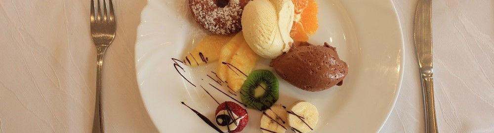 Beispiel:Dessertteller, Foto: Restaurant Zur Tennisterrasse.