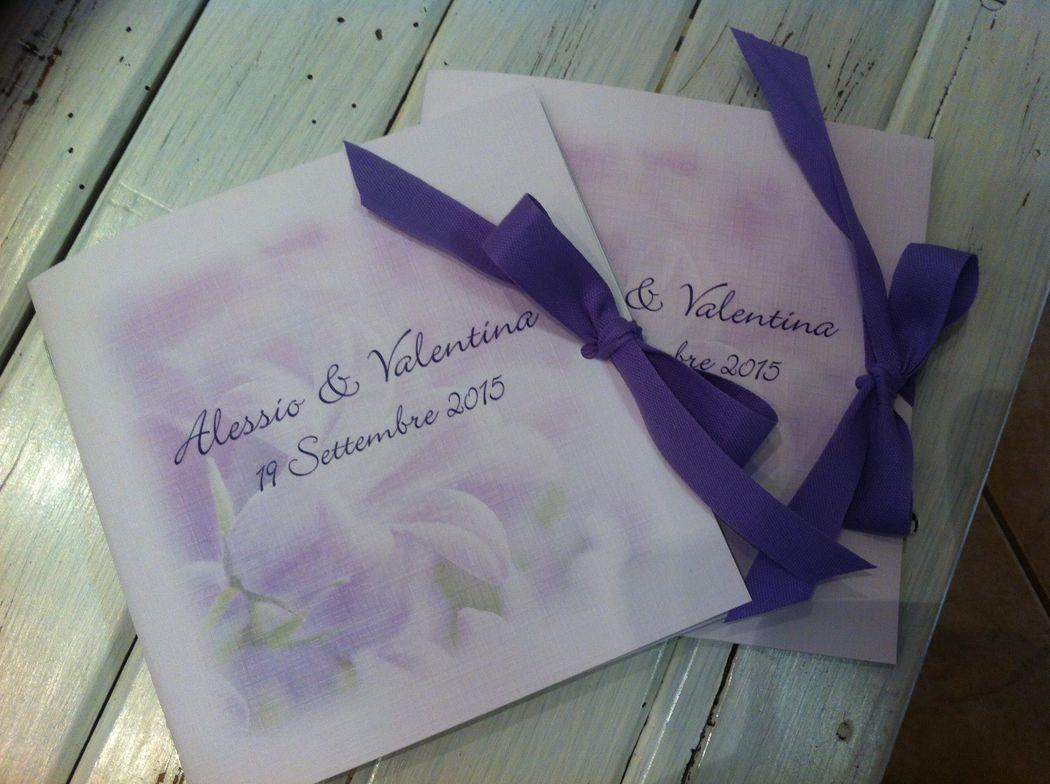 Libretto messa per matrimonio personalizzato www.stampaecrea.it