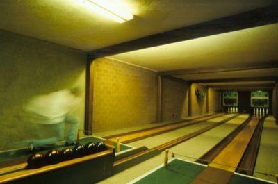 Beispiel: Kegelbahn, Foto: AKZENT Landgasthof Evering.