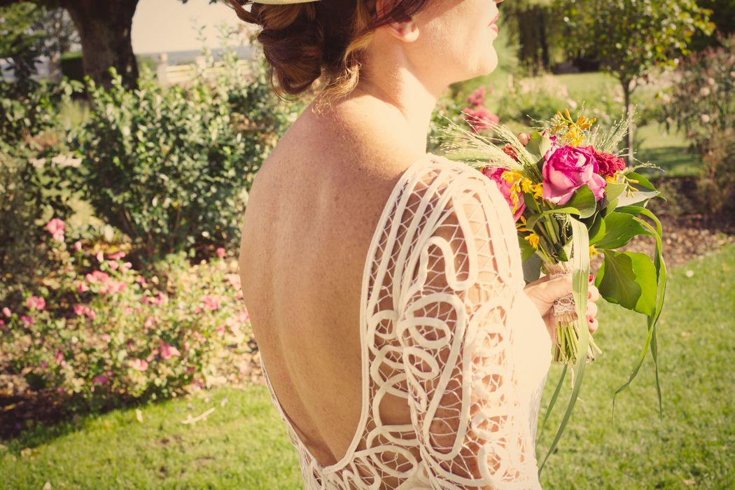 Mariage champêtre en Touraine