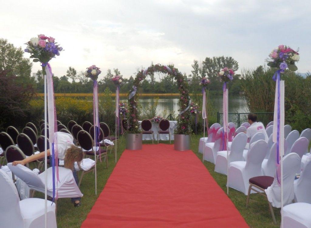 Beispiel: Blumen für die Zeremonie, Foto: Toifl Blumen.