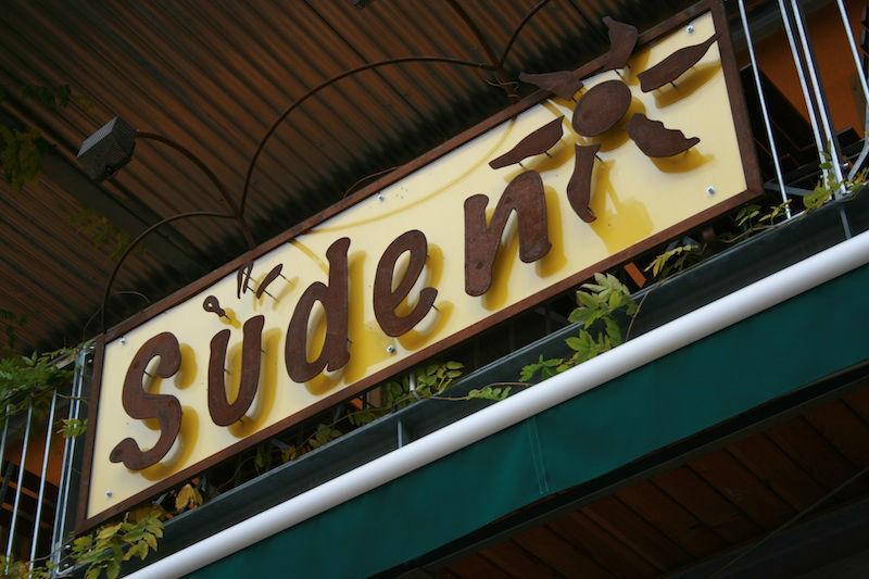 Beispiel: Eingang, Foto: Restaurant Süden.