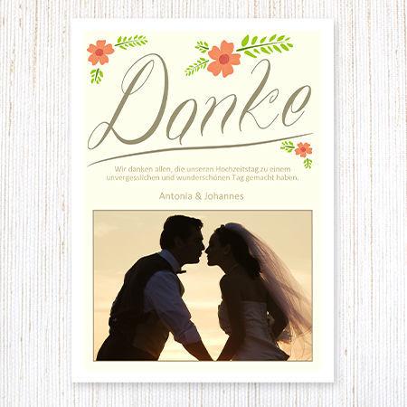 Viele kreative Dankeskarten Foto: wunderkarten.de