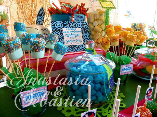 Candy Bar Anastasia&Sebastien