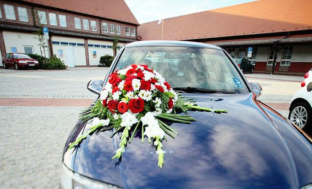 Beispiel: Hochzeitsfloristik, Foto: Hochzeitshaus Berlin Hochzeitsplanung,