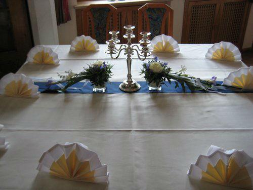Beispiel: Blumenschmuck für Ihre Hochzeit, Foto: Blumenstüberl Helmut Frick.