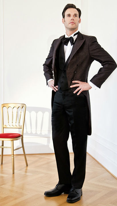 Beispiel: Der Anzug mit Stil, Foto: Hänsel & Gretel Herrenmode.
