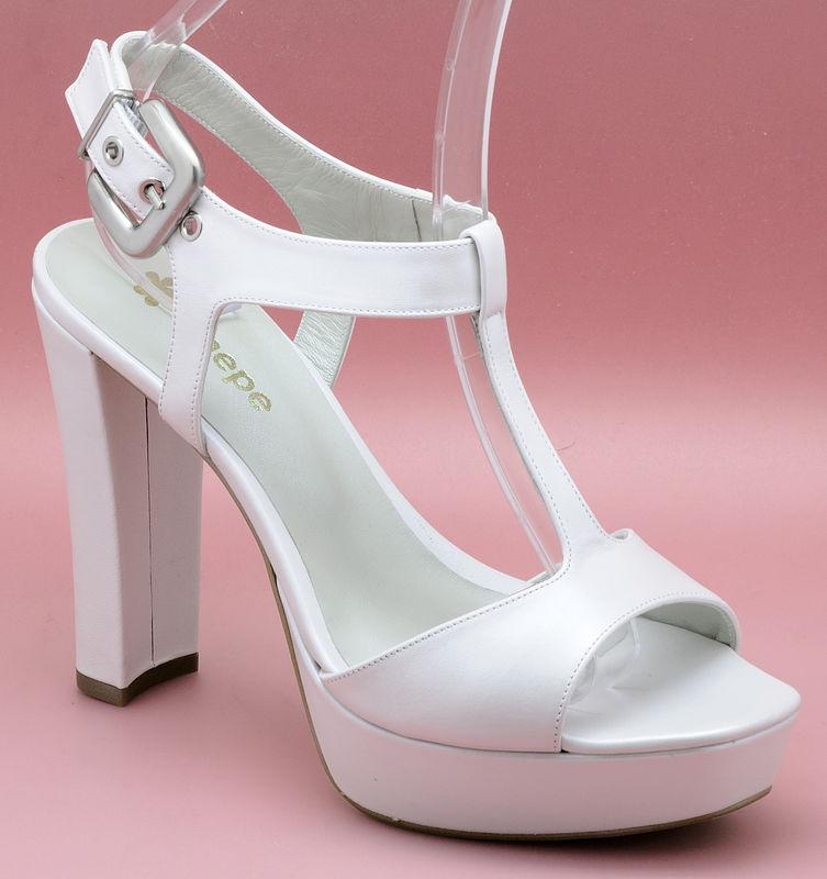 Zapato de novia enepe Fina