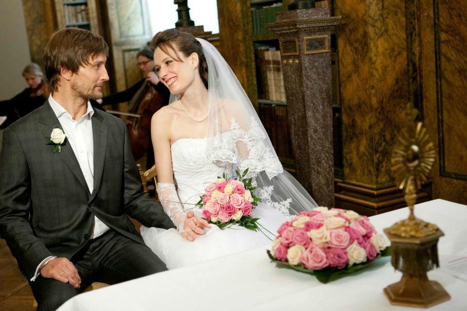 Beispiel: Brautpaar, Foto: Martina Draper.
