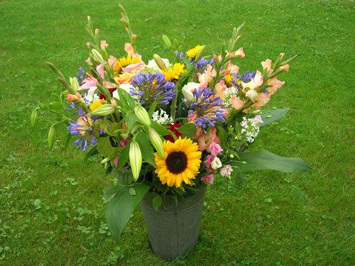 Beispiel: Blumenstrauß, Foto: Beko Blumen.