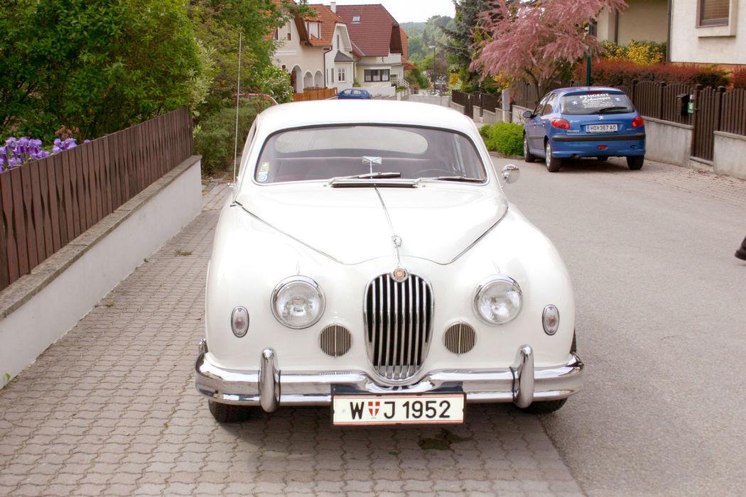 Beispiel: Jaguar, Foto: Oldtimer-Wien.