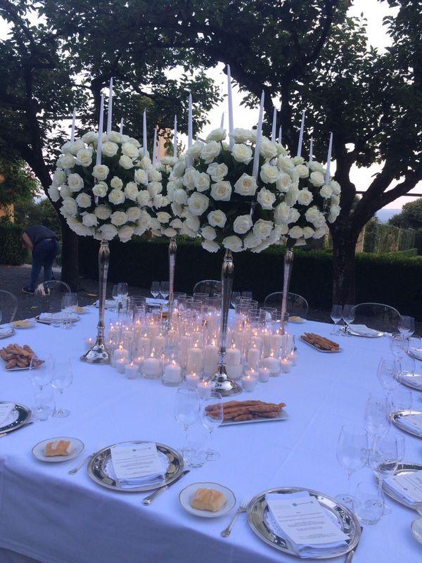 Una cena a lume di candele