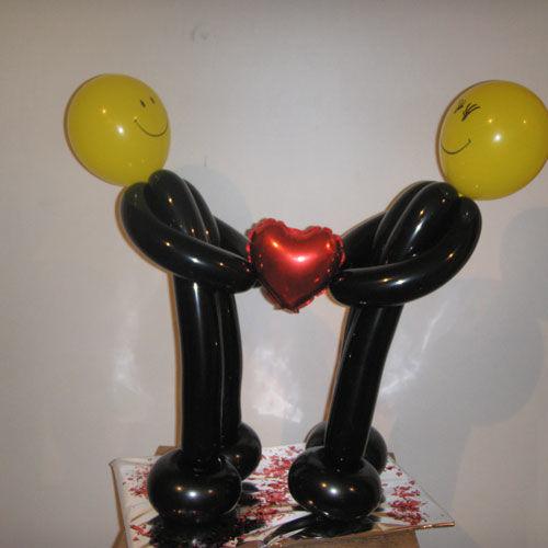 Beispiel: Ballongeschenk Hochzeit, Foto: Ballonwerk.