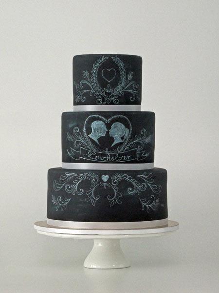 Beispiel: Hochzeitstorte Kollektion Tafel-Look, Foto: Madame Miammiam.