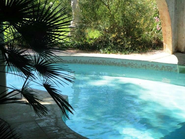 piscine lagon du Domaine de Cleverland