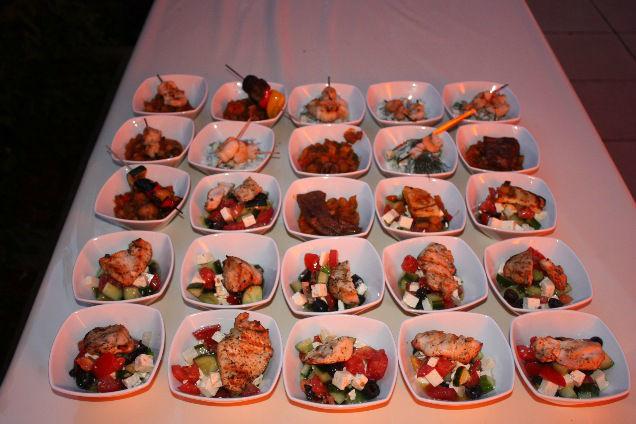 Beispiel: Ausgewählte Zutaten, Foto: Skyline Catering & Event's.