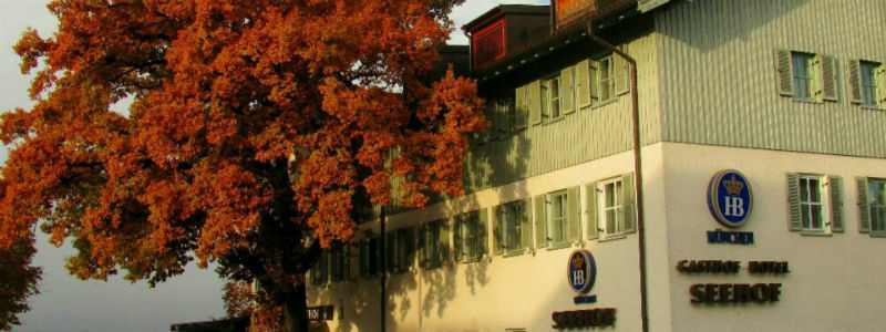 Beispiel: Seehof im November, Foto: Hotel Seehof Herrsching.