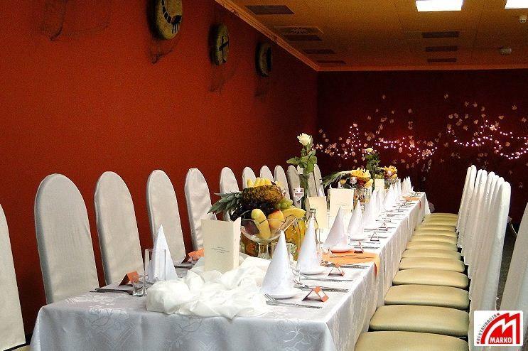 Zajazd u Jana Dekoracja stołu