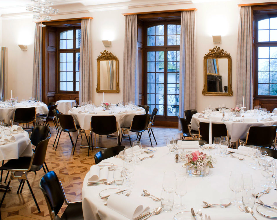 Beispiel: Bankettsaal, Foto: Schloss Münchenwiler.