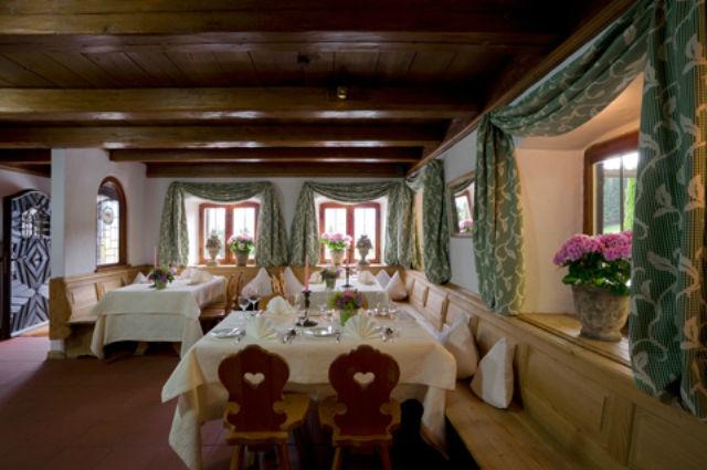 Beispiel: Restaurant Südterrasse, Foto: Freihaus Brenner.