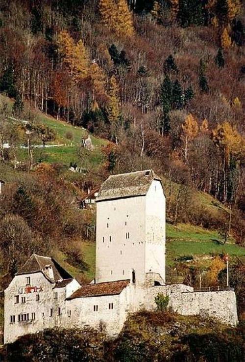 Beispiel: Landschaftsblick, Foto: Schloss Sargans.