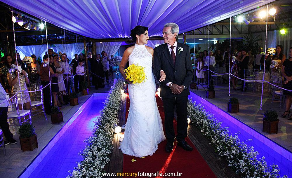 Passarela para noiva