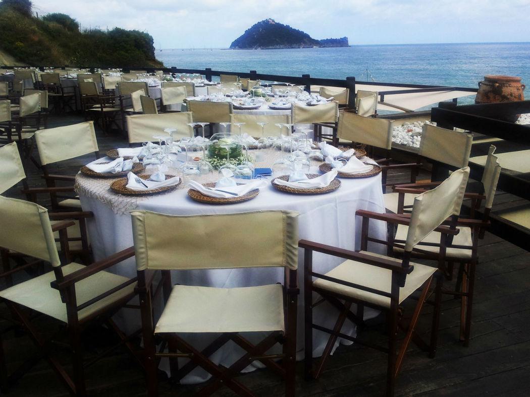 sedia regista matrimonio in spiaggia