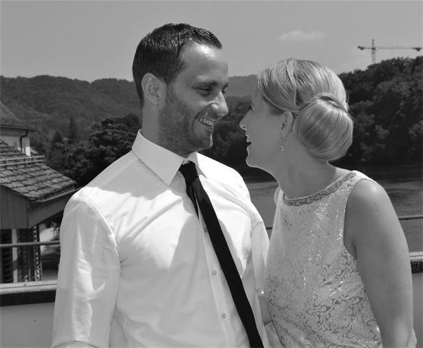 Beispiel: Fühlen Sie sich schön an Ihrem Hochzeitstag, Foto: Anjas Homecut.