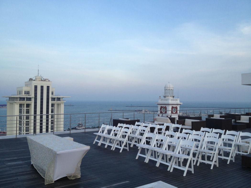 Tu boda civil puede ser con la mejor vista de Veracruz
