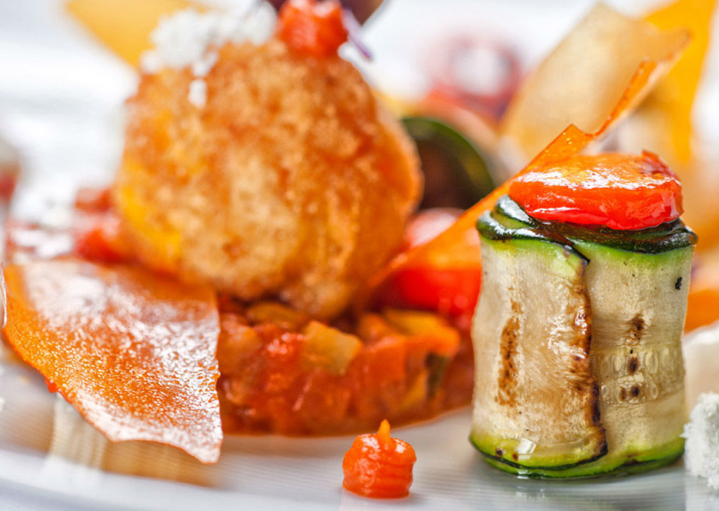 Beispiel: Gehobene Gastronomie, Foto: Tschuggen Grand Hotel Arosa.