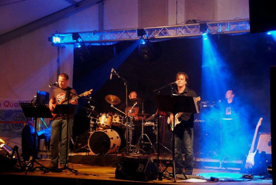 Beispiel: Stimmung mit der Band, Foto: Goodnews Musik.
